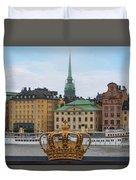 Skeppsholmsbron - Stockholm Duvet Cover