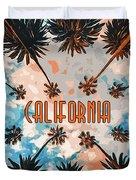 Skies Of California Duvet Cover
