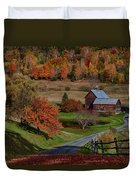 Sleepy Hollow Farm Duvet Cover