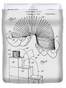 Slinky Patent 1947 Duvet Cover