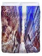 Slot Canyon Of Canyon De Chelly, Duvet Cover
