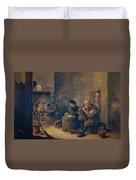 Smokers Duvet Cover