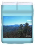 Smokey Mountains Duvet Cover