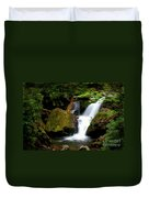 Smoky Mountain Falls Duvet Cover
