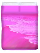 Smooth Pink Duvet Cover