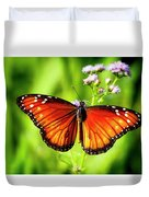 Soldier Butterfly Duvet Cover