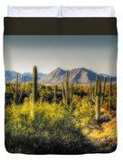 Sonoran Desert Duvet Cover