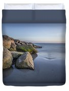 South County Sunset  Duvet Cover