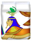 Sphinx - Mythical Creatures Of Ancient Egypt Duvet Cover
