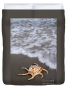 Spider Conch Shell Duvet Cover