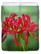 Spider Lily Duvet Cover