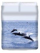 Spinner Dolphins Duvet Cover