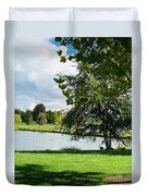 Spring At The Park Duvet Cover