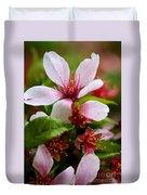 Spring Cherry Blossoms Duvet Cover