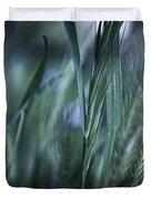 Spring Grass Emerging Duvet Cover