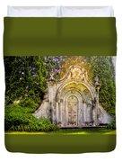 Spring Grove Mausoleum Duvet Cover