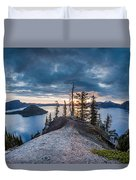 Spring Morning At Discovery Point Duvet Cover