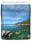 Spring Waters Duvet Cover
