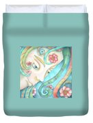 Sprite Of Kind Thoughts Duvet Cover