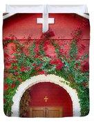 St. Anthony's Church Duvet Cover