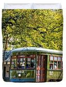 St. Charles Ave. Streetcar 2 Duvet Cover