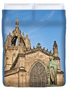 St Giles Cathedral  Edinburgh Duvet Cover
