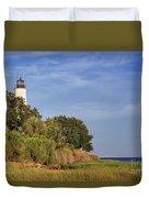 St. Mark's Lighthouse 28 Duvet Cover