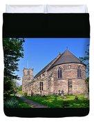 St Mary's Church - Tutbury Duvet Cover
