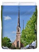 St. Matthew's German Evangelical Lutheran Church Duvet Cover