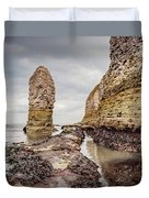 Stack And Chalk Cliff Duvet Cover