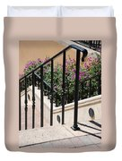Stairs And Rails Duvet Cover