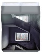 Stairs And Windows Duvet Cover