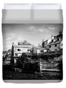 Staithes Village Duvet Cover