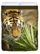 Stalking Tiger Duvet Cover