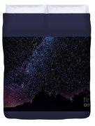 Stars Over Black Oak Lake 1 Duvet Cover