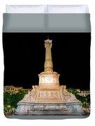 Statue Of Dom Pedro Iv Duvet Cover