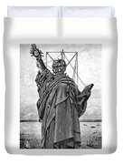 Statue Of Liberty, 1886 Duvet Cover