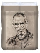 Steve Jobs Duvet Cover