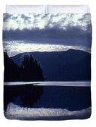 Still Mountain Lake 2  Duvet Cover