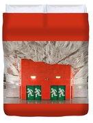 Stockholm Metro Art Collection - 005 Duvet Cover