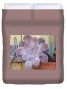 Stone Flower Duvet Cover