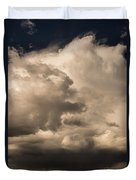 Storm Over Table Rock Duvet Cover