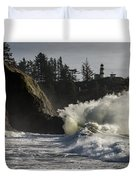 Storm Surf Duvet Cover