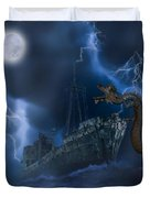 Stormy Weather Duvet Cover by Solomon Barroa