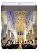St.patricks Cathedral Restored Duvet Cover