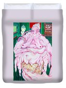 Strawberry Sherbet Duvet Cover