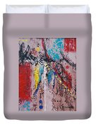 Stringed Abstract Duvet Cover
