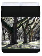 Strong Trees In The South Duvet Cover