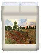 Study Of Monet Duvet Cover