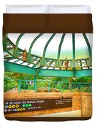 Subway Station 2 Duvet Cover